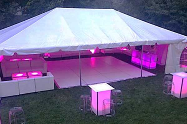 Lighted Tent